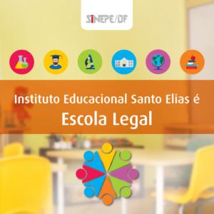 Selo Escola Legal Sinepe-DF